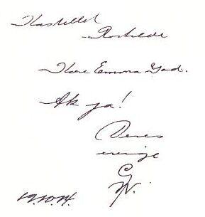 Gustav Wieds sidste brev var til Emma Gad.