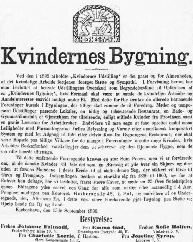 Adresseavisen, 15. september 1896.