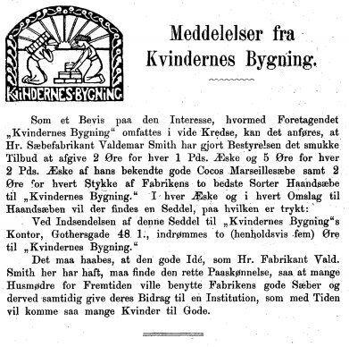 Kvinden og Samfundet, 1899 03