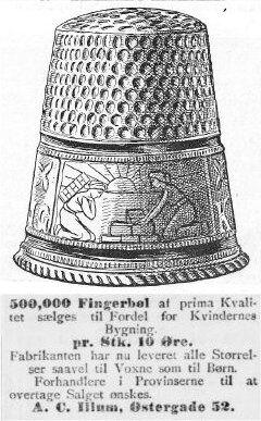 Dagens Nyheder, 7. november 1899.