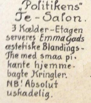 Klods Hans, 12. marts 1915.