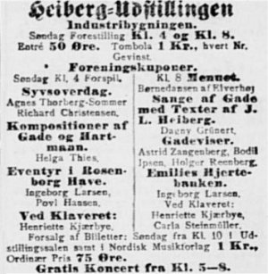 Nationaltidende, 7. november 1909.