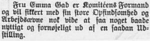 Horsens Folkeblad, 10. oktober 1903.