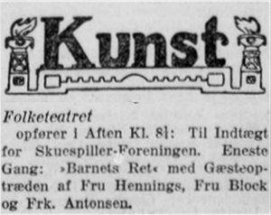 Social-Demokraten, 15. maj 1911.
