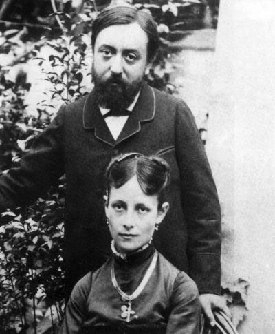 Paul og Mette Gauguin