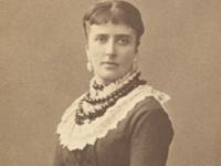 Amalie Skram til Selskab 1905